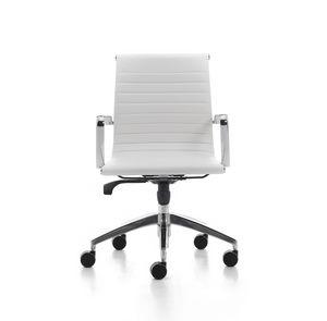 Sedia Direzionale Per Ufficio Su Ruote Braccioli In