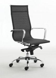 Zenda H 558, Sedia per ufficio in rete bianca o nera