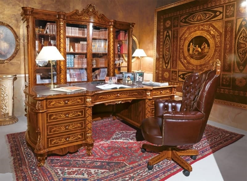 Poltrona presidenziale per uffici lussuosi imbottitura for Sedie e poltrone design