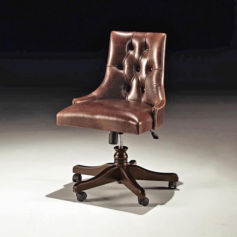 Art 8221 s sedie stile classico uffici lussuosi idfdesign - Sedie e poltrone ufficio ...