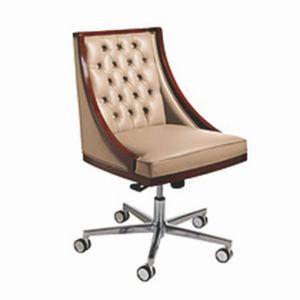 Boss sedia girevole, Sedia girevole in stile classico su ruote