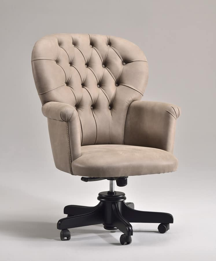 Sedia su ruote uffici presidenziali idfdesign - Sedie e poltrone ufficio ...