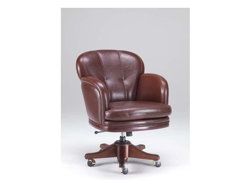 Poltrona ufficio di lusso per tribunale e ufficio idfdesign for Amazon sedie ufficio