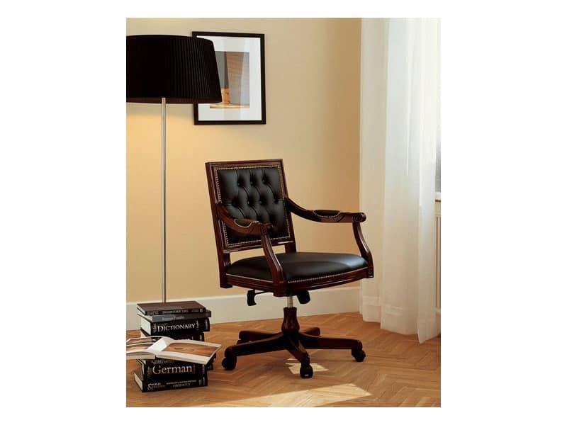 Poltrona di lusso per uffici presidenziali basculante - Sedie e poltrone ufficio ...