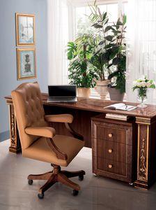 Modigliani poltrona ufficio, Poltrona da ufficio in pelle