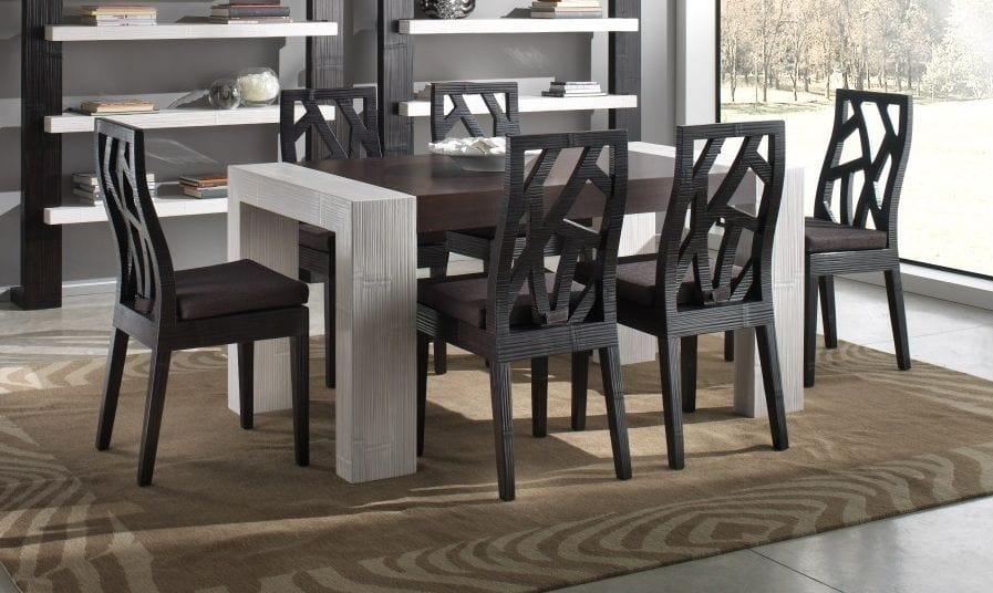 Sedia etnica per tavolo da pranzo | IDFdesign