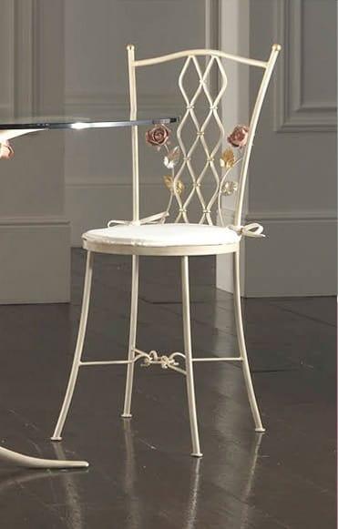 Sedia in ferro battuto lavorato | IDFdesign