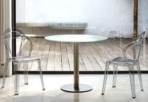 TiTì, Sedia design in policarbonato, impilabile,per giardino