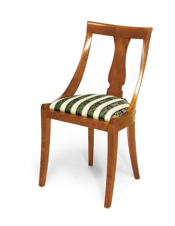 Art. 144, Sedia in stile classico, con comoda seduta imbottita
