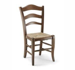 Immagine di Montanara sedia, sedie con schienale decorato