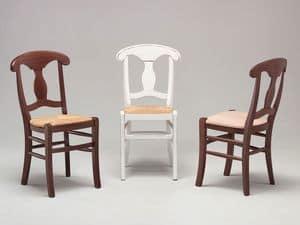 Immagine di NAPOLEONE 41 A, sedie pranzo tradizionali