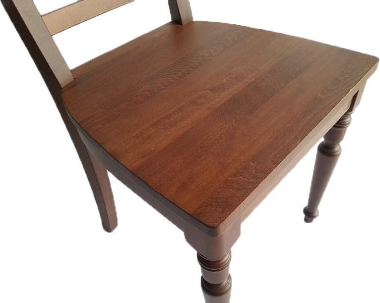 Stile, Sedia interamente in legno di faggio, stile classico