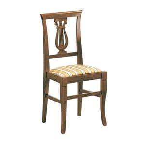 Immagine di 1483/I, sedia sedile imbottito