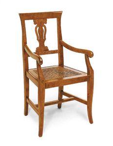 Art.103/A, Sedia con seduta in paglia di vienna