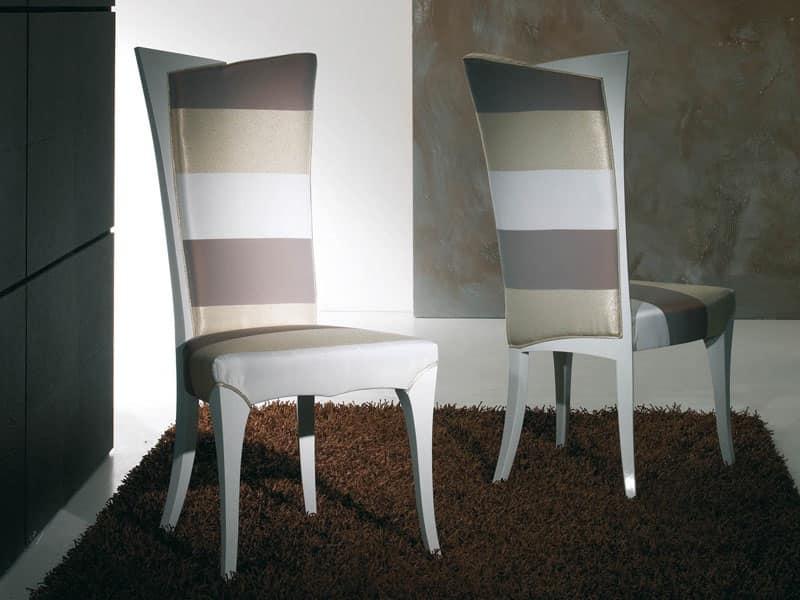 Sedia imbottita sedia in legno sedia in stile gotico for Sedie soggiorno amazon