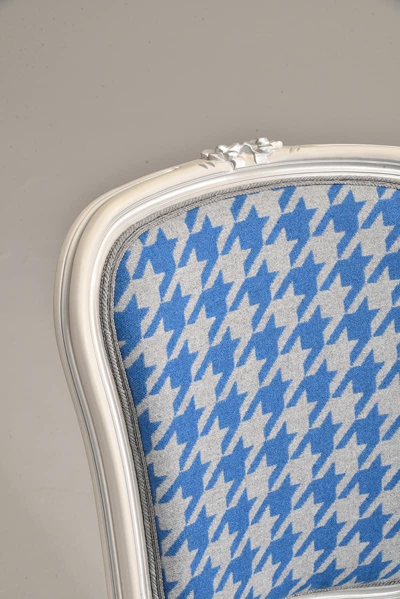 BRIANZOLA sedia 8017S, Sedia in stile Luigi XV, per sala conferenze elegante