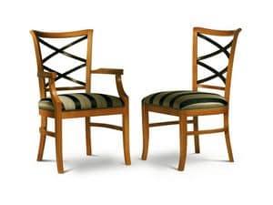 Immagine di CROCI sedia 8011S, sedia in stile