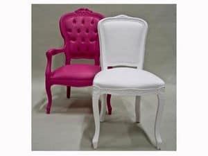 Immagine di LOUIS I by SIX-INCH, sedia seduta imbottita