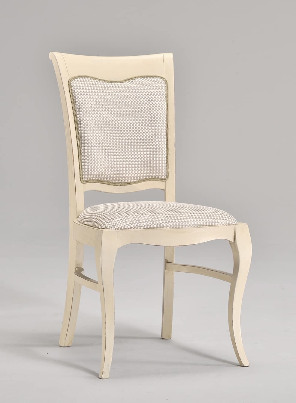 Sedia per soggiorni in stile classico, imbottita  IDFdesign