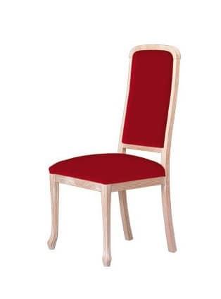 S01, Sedie con struttura in legno, imbottita, per uso contract