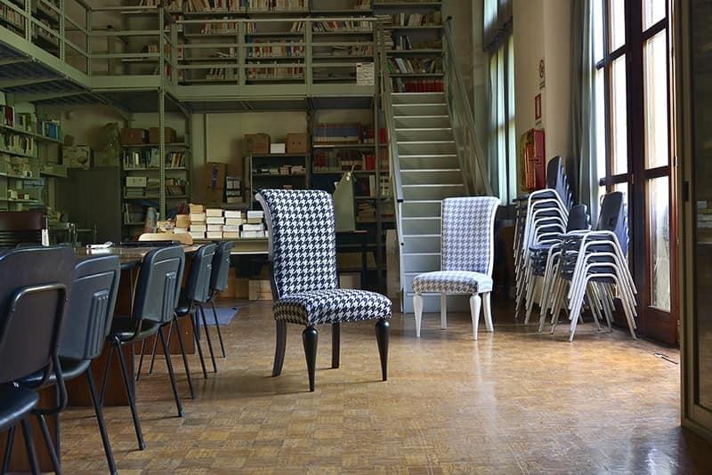 ZARA sedia 8360S, Sedia classica in faggio, disponibile in varie tinte