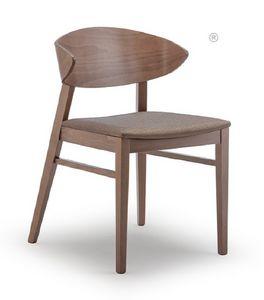 Edith, Sedia in legno di faggio