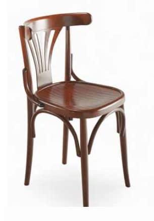 Sedia in legno curvato, stile viennese | IDFdesign