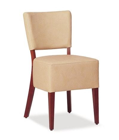 325, Sedia con ampia seduta imbottita