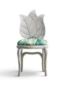 6715 Clorophilla, Sedia con schienale a forma di foglie