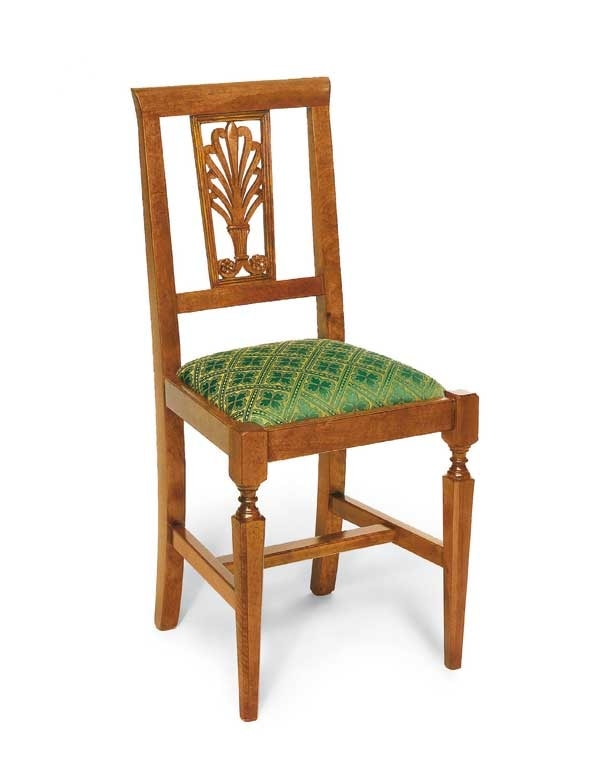 Art. 137, Sedia classica, con seduta imbottita
