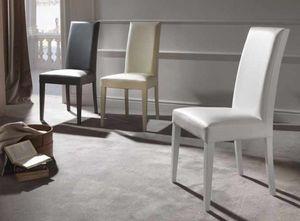 Cream, Comoda sedia imbottita per sala da pranzo