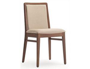 Godiva-S1, Sedia da pranzo, rivestibile in tessuto cliente