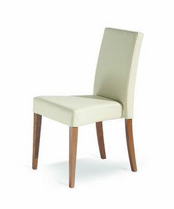 Wiky/IMP, Sedia impilabile per ristoranti, imbottita