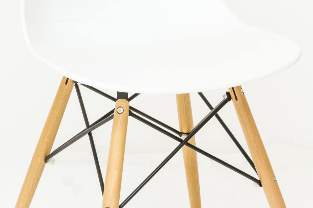 Sedia In Polipropilene Con Gambe In Legno IDFdesign #A87223 1200 799 Sedie Moderne Con Gambe In Legno