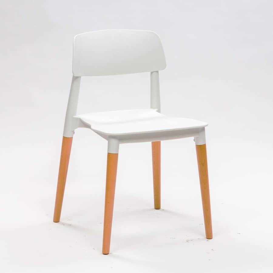 Sedia salvaspazio comoda ed impilabile idfdesign for Sedia design comoda