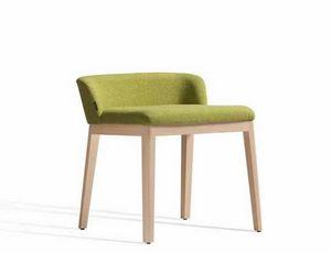 Concord 520AM, Sedia in legno con schienale basso
