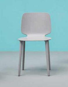 Babila, Elegante sedia in legno moderna