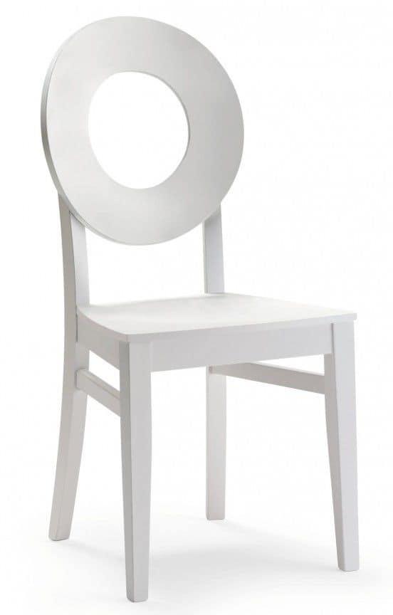 Sedia in legno in stile moderno, per ambienti contract e domestici  IDFdesign