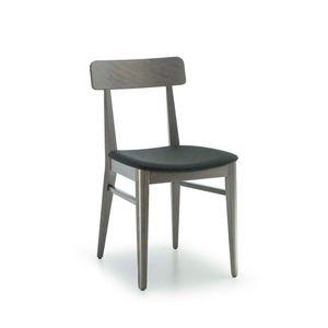 C68, Sedia in legno per bar e ristoranti
