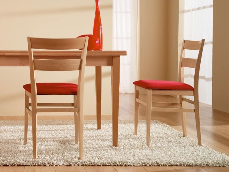 Cremona 47 b sedie legno moderne agriturismo idfdesign for Sedie legno moderne