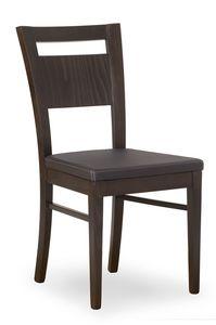 Lory, Sedia con comoda seduta imbottita