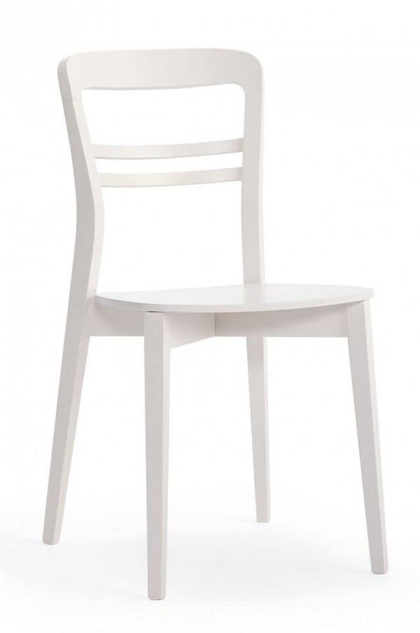 Sedia completamente in legno in stile moderno per uso for Sedie legno moderne