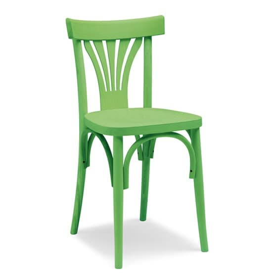 Sedia semplice in legno curvo per hotel e ristoranti idfdesign - Sedie in legno design ...