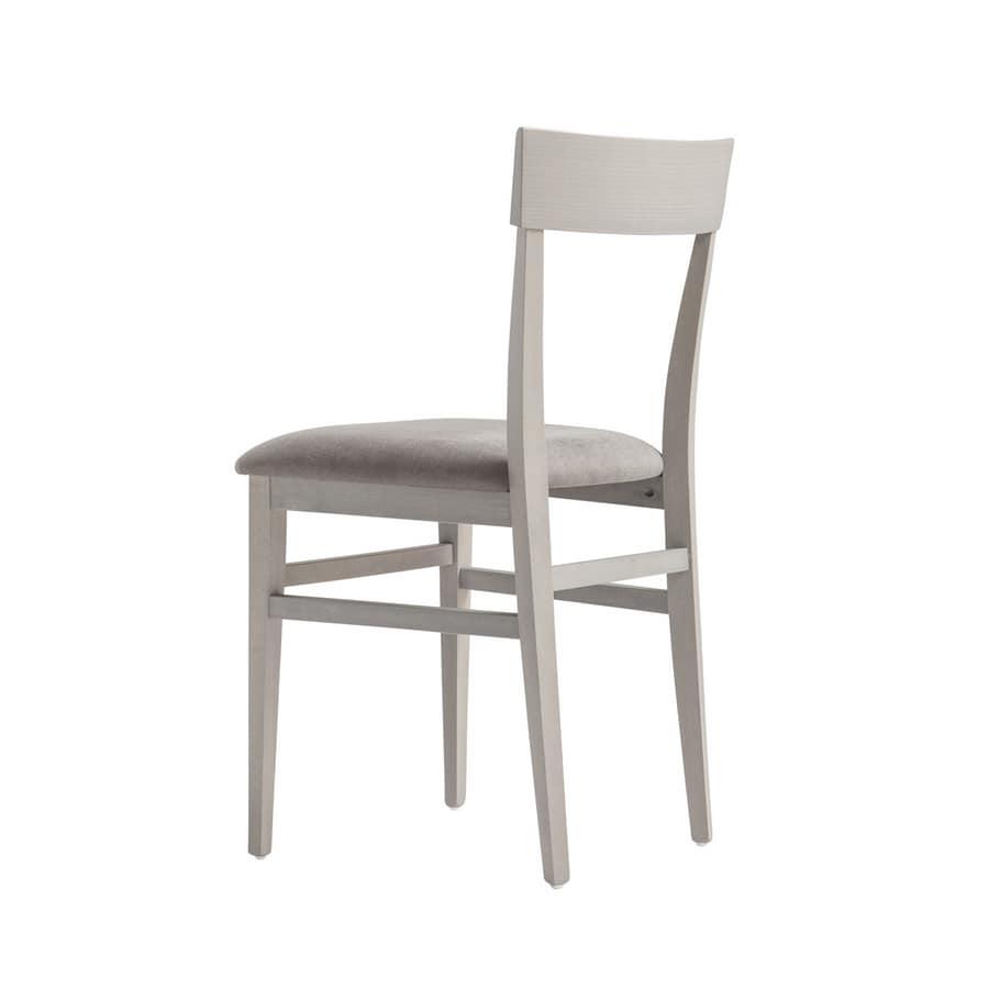 Sedia in legno dal design semplice | IDFdesign