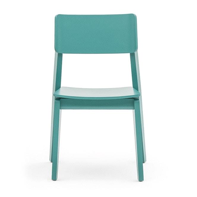 Sedia in legno massiccio in stile moderno idfdesign - Sedie in legno design ...