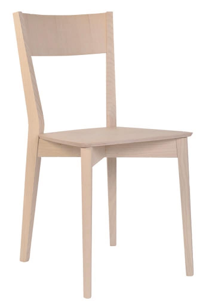 Sedie In Legno Per Alberghi.Sedia Interamente In Legno Per Ristoranti E Alberghi Idfdesign