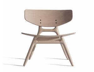 Eco 501M, Sedia lounge in legno