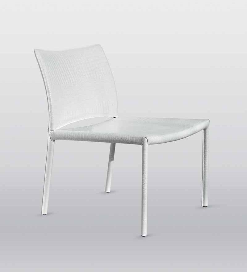 Kometa, Comoda sedia, con ampia seduta, ideale per aree attesa