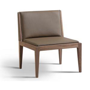 Malib� 3802/F, Sedia lounge in legno