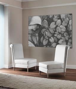 Immagine di TIFFANY big chair 8669A, ideale per aree attesa